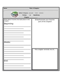 Main Idea, Folk Tales, & Chapter Books: Graphic Organizers