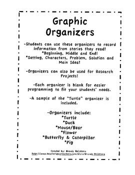 Reading Graphic Organizer Bundle