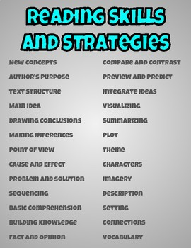 Reading Graphic Organizer Bundle