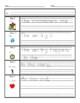 Reading Graphic Organizer - Common Core Standards 1.RL.1 & 1.RI.1 1st Grade