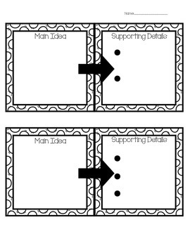Reading Graphic Organizer Set