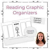 Reading Graphic Organizers- 12 pack