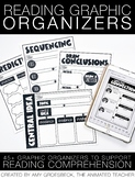 Reading Graphic Organizers – Printable and Digital