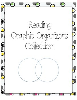 20 Reading Graphic Organizers Collection