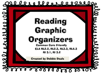 Reading Graphic Organizers (Common Core Friendly)