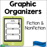 Reading Graphic Organizers - Digital Version Distance Learning