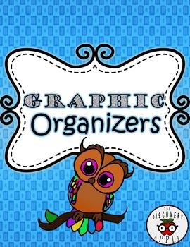 Reading Graphic Organizers FREEBIE Cute Owl Themed