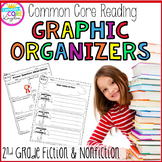 Reading Graphic Organizers- Fiction and Nonfiction  (Second Grade Common Core)