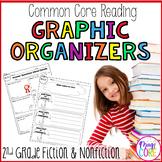 Reading Graphic Organizers- Fiction and Nonfiction  (Second Grade Common Core)