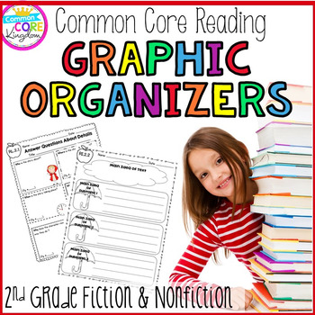Reading Graphic Organizers- Fiction and Nonfiction  (Secon