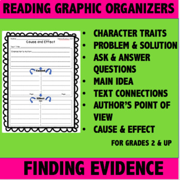 Reading Graphic Organizers- Finding Evidence