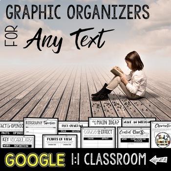 Reading Graphic Organizers: Google Classroom