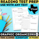 Reading Graphic Organizers Grades 3-5