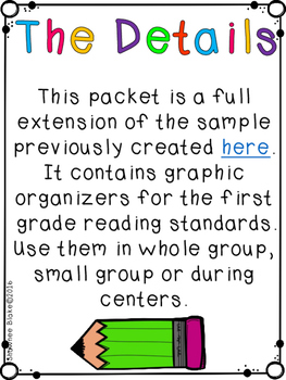 Reading Graphic Organizers II