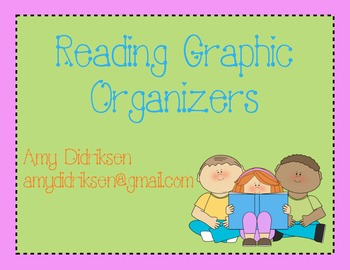 Reading Graphic Organizers K-3