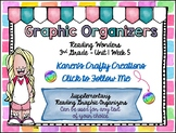 Reading Graphic Organizers: 3rd Grade  - Reading Wonders (U1 W5)
