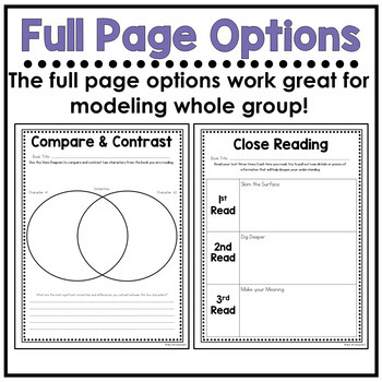 Reading Graphic Organizers - Second Edition