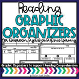 Reading Graphic Organizers   Distance Learning