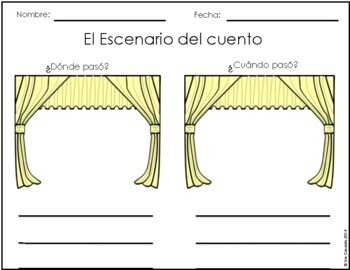 Spanish Graphic Organizers