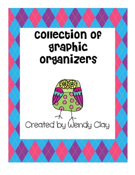 Reading Graphic Organizers for Primary and Elementary Grades