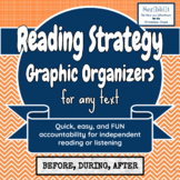 Reading Graphic Organizers for any passage or story