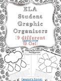 Reading Graphic Organizers [FREEBIE]