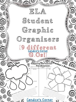 Reading Graphic Organizers (multiple skills)