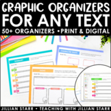 Reading Graphic Organizers to Use with ANY Text | Distance