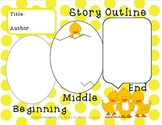 Reading Graphic Organizers with ducks, CCSS aligned- 2teach4fun