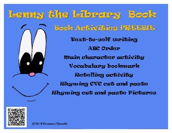 Book Companion FREEBIE Lenny the Library Book