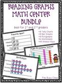 Reading Graphs Math Center Bundle (1st-2nd)