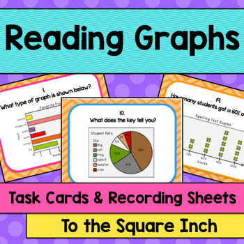 Reading Graphs Task Cards