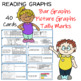Reading Graphs  (40) Task Cards