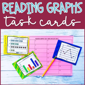 Reading Graphs Practice Task Cards
