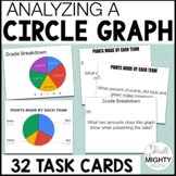 Reading Graphs Task Cards (circle graphs only)