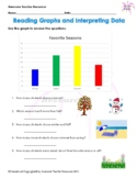 Reading Graphs and Interpreting Data Worksheet #1Reading Graphs and Interpreting
