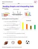 Reading Graphs and Interpreting Data Worksheet