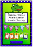 Reading Group Animal Labels/Charts/Bunting