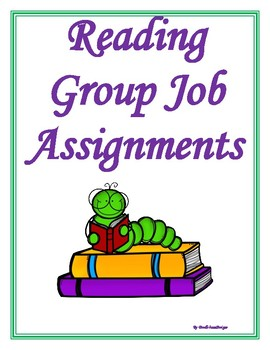 Reading Group Assignments