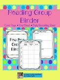 Reading Group Binder
