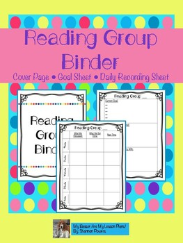 Reading Group Binder