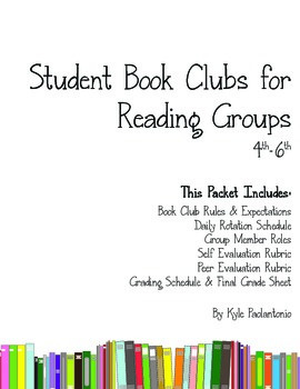 Reading Group Book Clubs