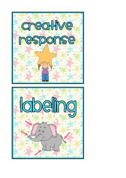 Reading Group Centre Activity Labels