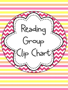 Reading Group Clip Chart