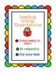 Reading Group Expectations Poster