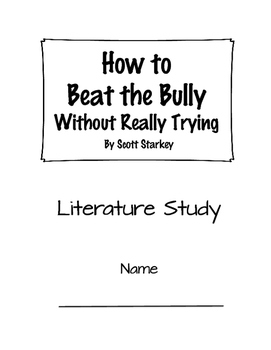 Reading Group/Literature Circle: How to Beat the Bully Without Really Trying