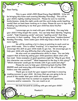Reading Group Intro letter--BiLingual!