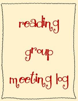 Reading Group Meeting Log