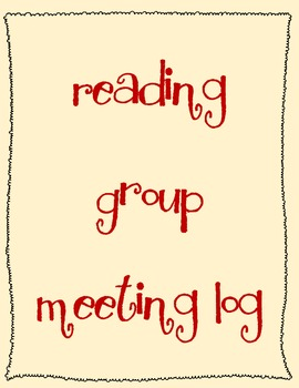 Reading Group Meeting Log