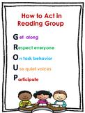 Reading Group Mini Poster
